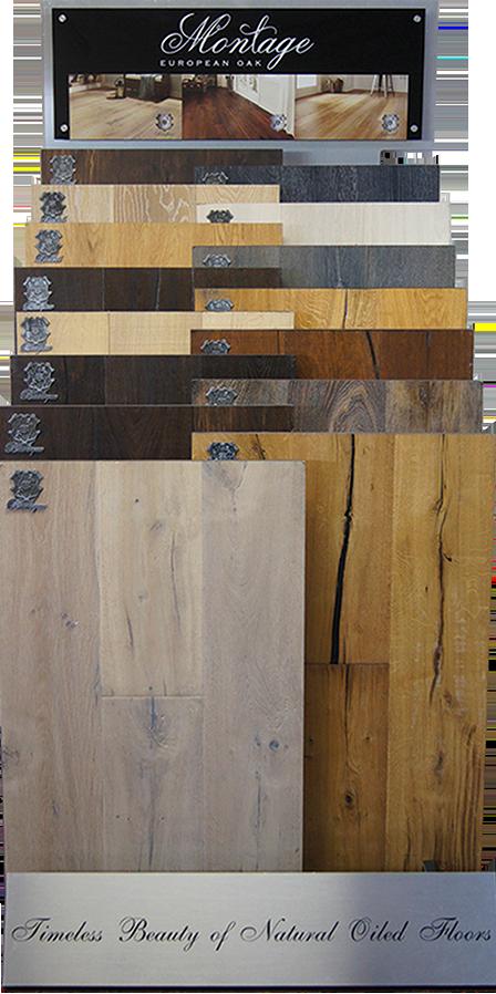Casabella Hardwood Oil Finish Montage Display