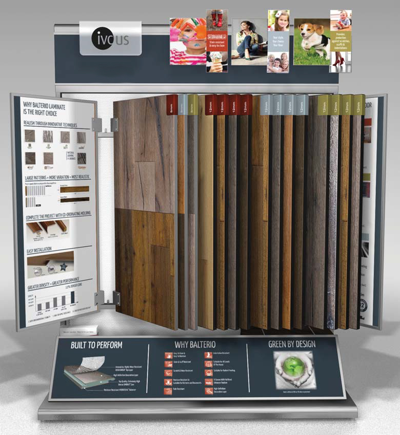 IVC - Balterio Laminate Display